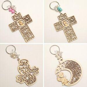 12-PC-Wood-Baptism-Girl-Boy-Keychain-First-Communion-Favors-Recuerdo-Bautizo