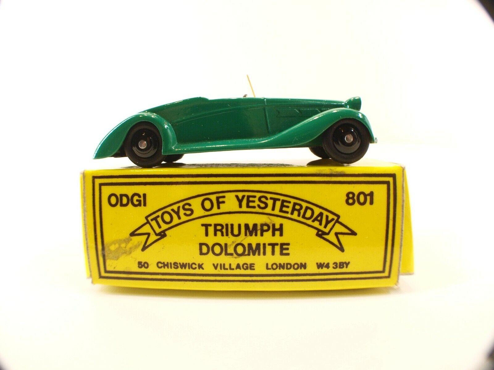 Odgi - 801 Triumph Dolomite - 9 cm  -  neuf en boite  de gros