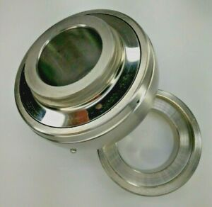 "Premium SA205-16 Insert Bearing 1/"" Bore w// Locking Collar Set Crew  Spherical OD"