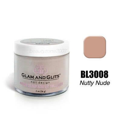 Hospitable Glam And Glits Color Blend Nail Powder Bl3008 Nutty Nude 2oz Cleaning The Oral Cavity. Health & Beauty