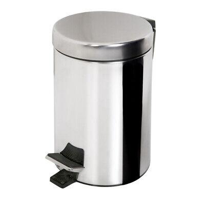 3 5 oder 20 Liter Mülleimer Kosmetikeimer Abfalleimer Treteimer Edelstahl