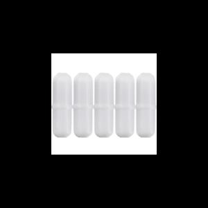 5mm-x-10mm-PTFE-Magnetic-Stirrer-Pill-Bar-Mix-Octagon-Teflon-Cylinder-Stir-5pcs