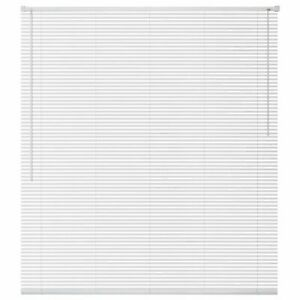 Vidaxl persiana de aluminio pvc 140x130 cm blanca - Persiana veneciana pvc ...