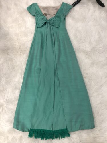 Vintage Green Gown Small