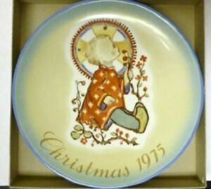 Christmas Plate 1975 Christmas Child by Berta Hummel