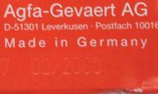 Film diapos Lot 2 pellicules diapositives Agfachrome périmé rare Made in Germany