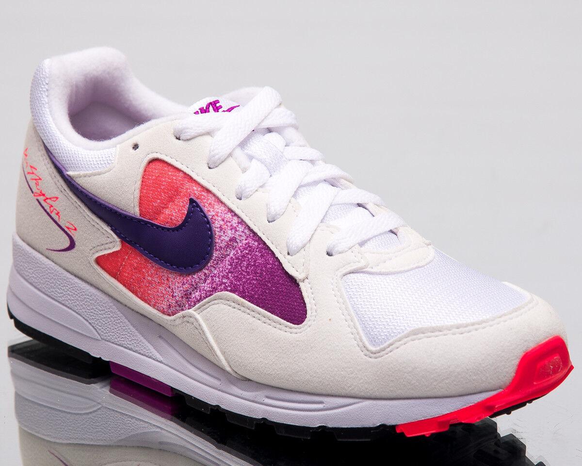 3eb94dfa24fb31 Nike Air Skylon II Women Lifestyle shoes White White White Purple 2018  Sneakers AO4540-102