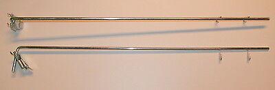 10x Blisterhaken Doppelhaken für Lochwand Lochwandhaken Haken für Tegometall