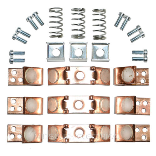 55-154607G002//041 GENERAL ELECTRIC SZ 5 3P REPLACEMENT CONTACT KIT-SES