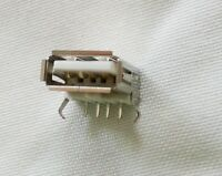 10 X Usb Type-a Female Pcb Mount Socket Connector