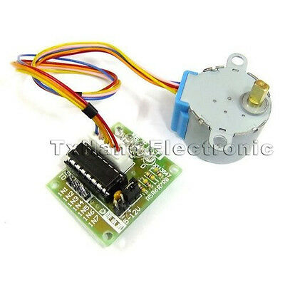 5PCS 5V Stepper Motor 28BYJ-48 + Drive Test Module Board ULN2003 5 Line 4 Phase