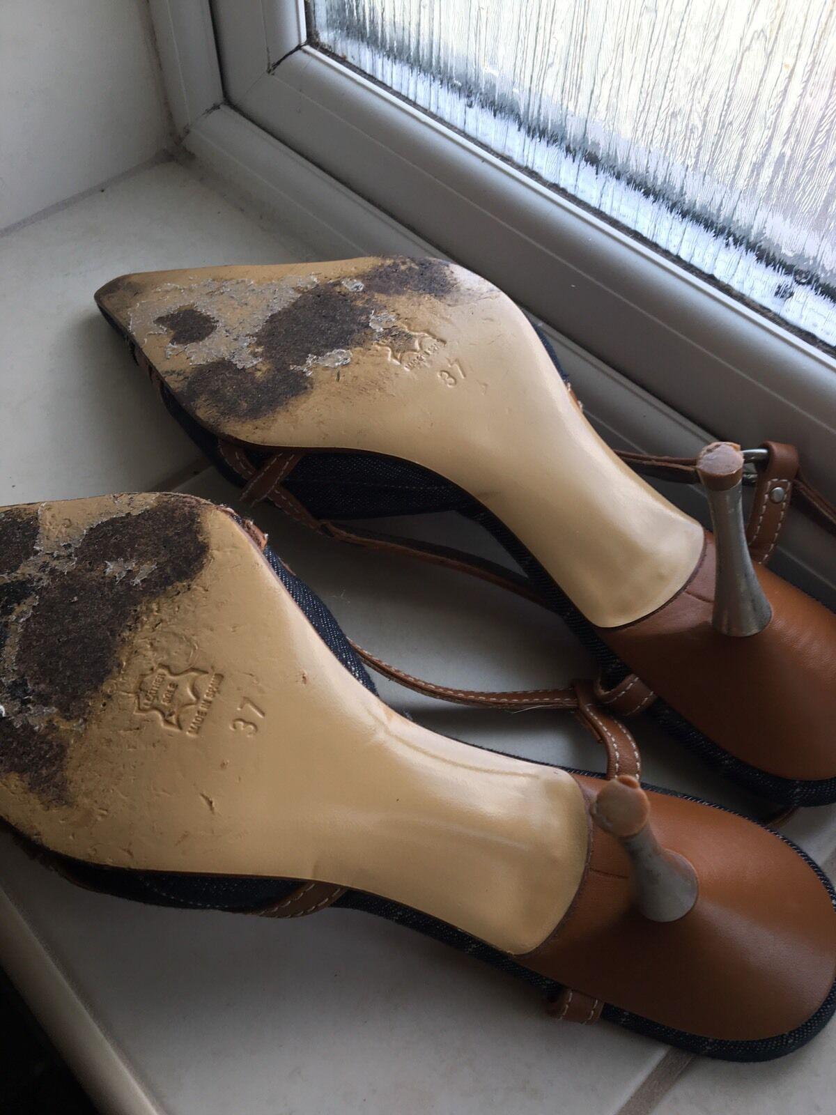 Karen Millen Sling UK Back Schuhes UK Sling Größe 4 203387