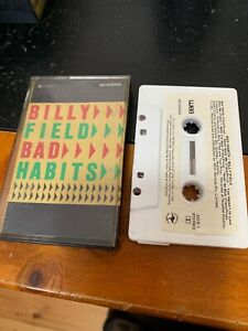 BILLY-FIELD-BAD-HABITS-Cassette-Tape
