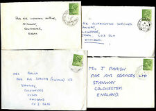 GB 1980 Field Post Office FPO Covers x 4 #C39915