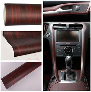 45cm X 120cm Car Interior Wood Grain Textured Vinyl Wrap