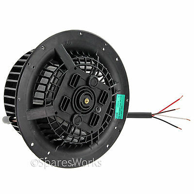 135w Motor + Fan For Zanussi Cooker Hood Anti Clockwise Lh Directional Pure Witheid