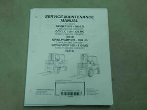 Yale GP//GLP//GDP 070-090 LG GP//GLP//GDP 100-110 MG Service Manual #6204