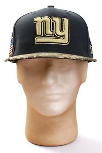 02383ccdbb8 New Era 59Fifty NFL NY Giants Salute To Service Fitted Hat Cap Adult ...