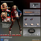 """ONE:12 COLLECTIVE SUICIDE SQUAD HARLEY QUINN ACTION FIGURE 6""""/16cm 1/12th MEZCO"""