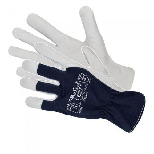 Heavy Duty Work Gloves Made of High Quality Leather Goatskin Drivers Mechanic