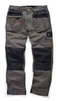 Scruffs WORKER PLUS Work Trousers Graphite Grey (All Sizes) Men's Trade Workwear