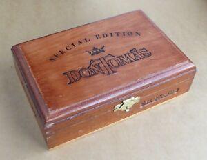 Don-Tomas-Special-Edition-wooden-cigar-box-S-E-No-500-good-condition