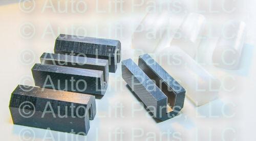 Set of 8 Slider Block Combo Kit for Older Challenger VBM Lifts /& Ammco Lifts
