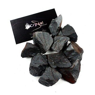 "Crystal Allies Materials: 1lb Bulk Rough Hematite Stones Large 1"""