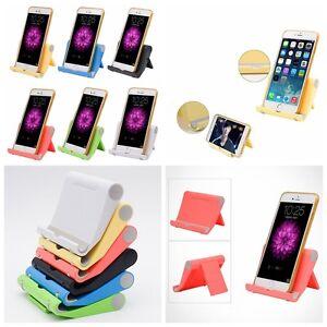 universel support t l phone mobile prise pied table pliable pour iphone portable ebay. Black Bedroom Furniture Sets. Home Design Ideas