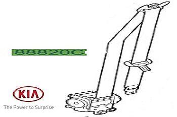 Origin KIA SPORTAGE 2010-2013 Cinture di Sicurezza Anteriore-Rh Driver 888203U200ED