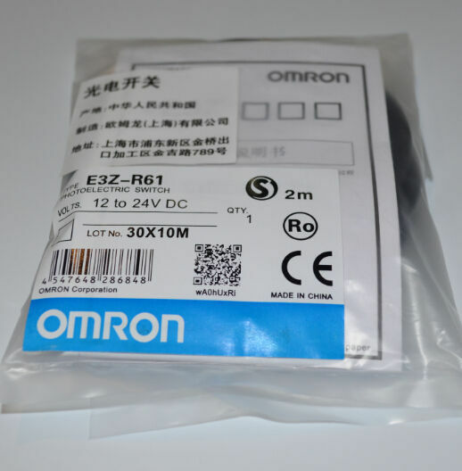 1PC New omron E3Z-R61 Photoelectric Switch  TT