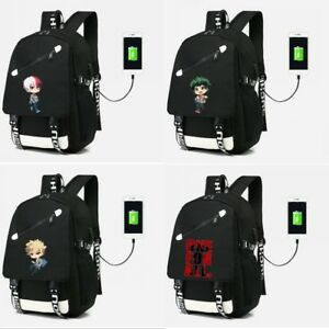 ad460ce6eee3 Details about My Hero Academia All.Might Backpack Schoolbag Shoulder bag  Travel Bag Laptop bag