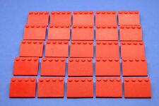 LEGO 25 x Dachsteine rot Schrägstein 3x4 | red roof brick 3297 329721