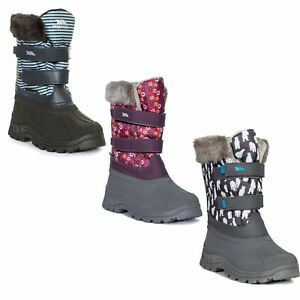 Girls Insulated Snow Boots Warm Winter