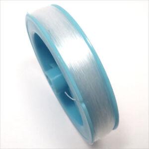 Cordon de Nylon fil de pêche 0.8mm 40 Mètres Transparent