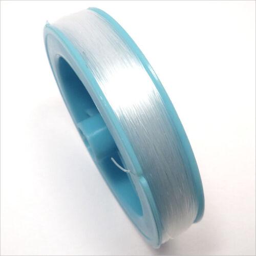 Cordon de Nylon fil de pêche 0.8mm / 40 Mètres Transparent
