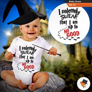Juro solemnemente que estoy haciendo nada bueno bebé crece Harry Potter Traje Chaleco Nuevo