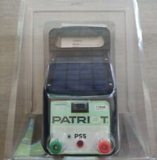 Patriot Ps5 Solar Fence Energizer 004 Joule 2 Miles New Never Used Tester