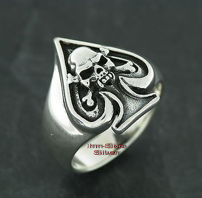 Totenkopf Ring Eisernes Kreuz Skull Old School Totenkopfring Skullring Pokerring