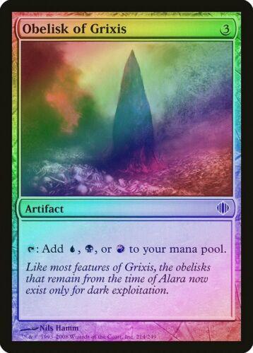 Obelisk of Grixis FOIL Shards of Alara PLD Artifact Common MTG CARD ABUGames