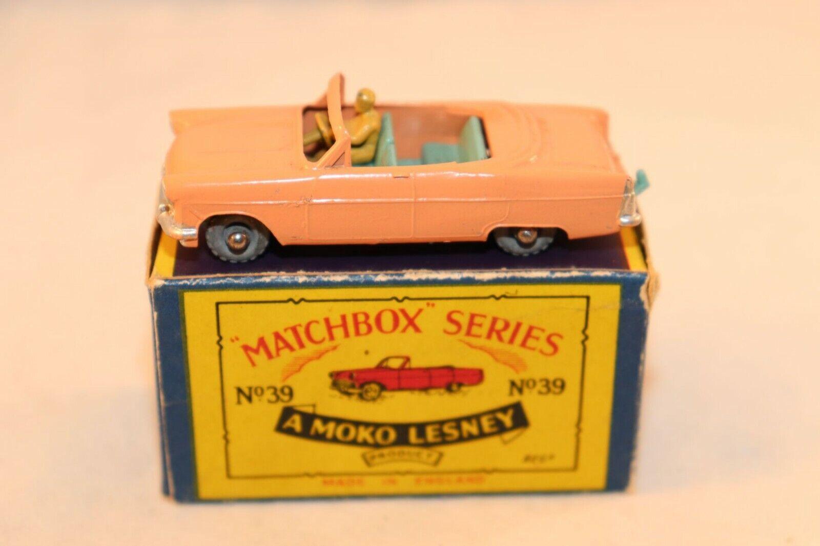 ボックスのすべての元のボックスのレスビー39フォードフォードゾディアック転換VNミントボックス