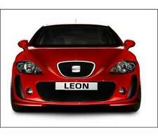 Seat Leon Spoiler - Front Bumper  - With factory fitted fog lamps E1P9071060D