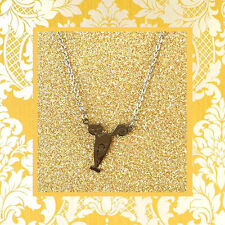 """CC20045 - Eye catching """"silver"""" pendant with cat stainless steel pendent"""