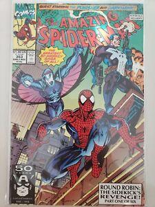AMAZING-SPIDER-MAN-353-358-1991-MARVEL-COMICS-FULL-034-ROUND-ROBIN-034-SERIES