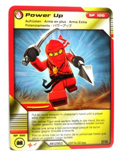 4612953 LEGO® Ninjago Masters of Spinjitzu 1 Sammelkarte Card 27 Aufrüsten