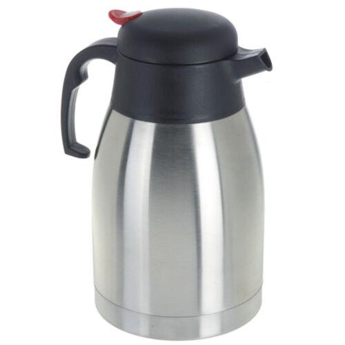 Thermos Caraffa Acciaio Inox con Manico per Bevande Calde Caffe te tisane 1,5lt
