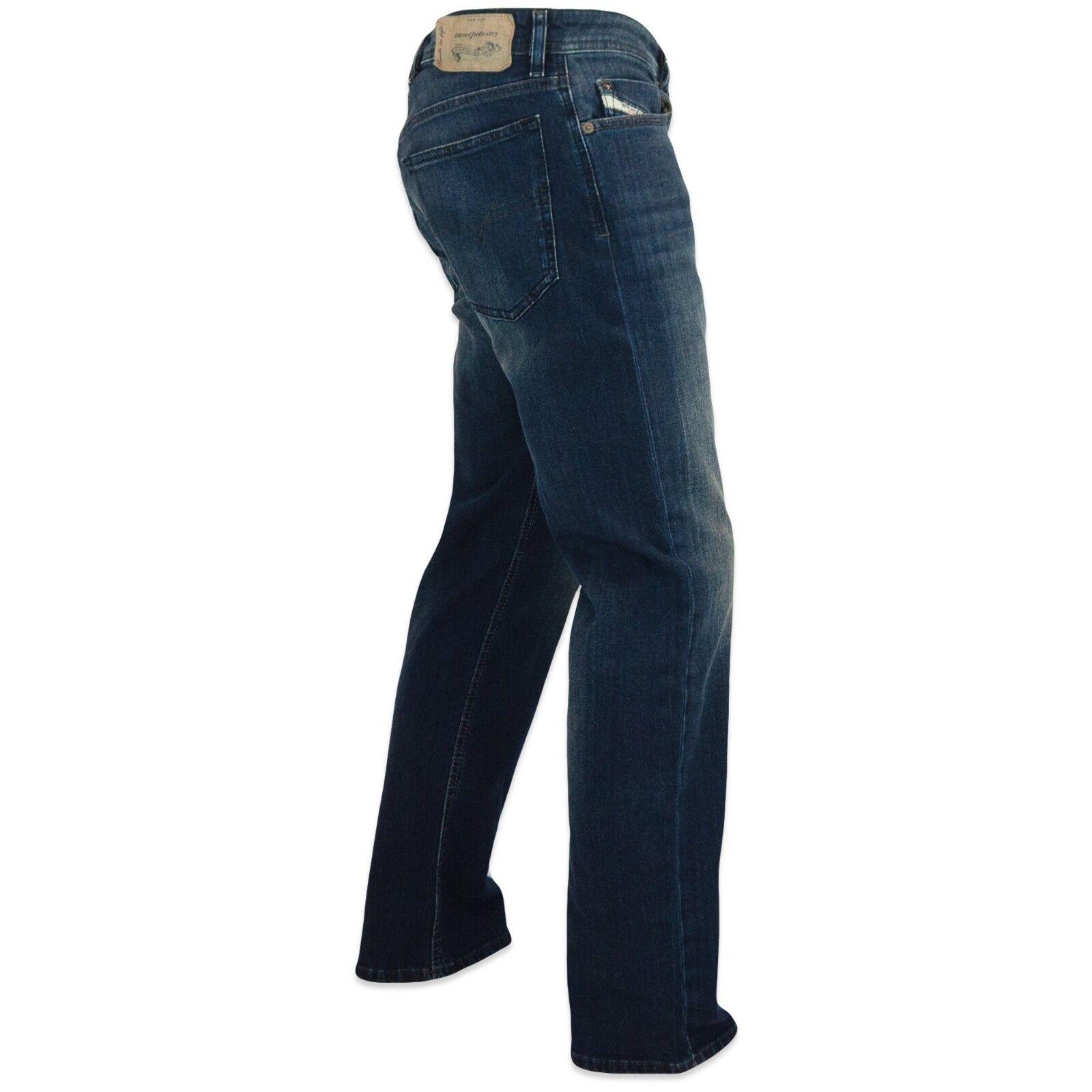 Diesel Jeans - Uomo Waykee Vestibilità Regolare - 0814W - - - Blu Scuro - ec028a