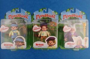 Sin-Abrir-Monchhichi-figura-3-034-Poseable-Juguete-Elige-Tu-Personaje