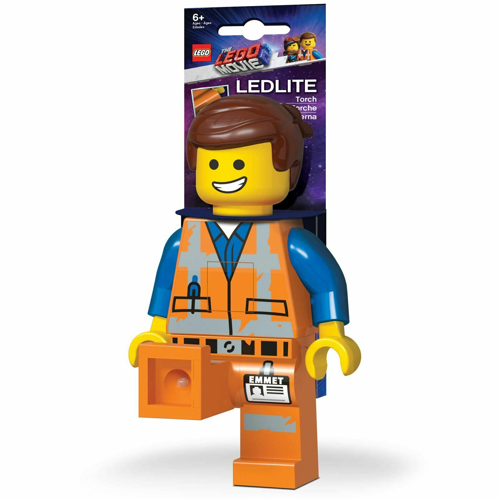 Ufficiale Lego Movie Movie Movie 2 Emmet Torcia 21cm - Led Bedsight Luce con Pesca la Lenza 98d16e