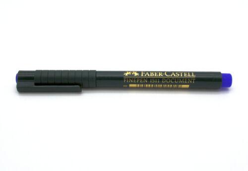 Sparpack wählbar FABER-CASTELL Tintenfeinschreiber FINEPEN 1511 Farbe blau